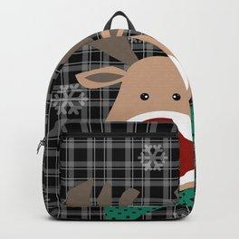 Deer. Patchwork 2 Backpack