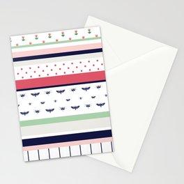 Stripes Mix Stationery Cards
