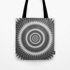 Monochrome Rings Tote Bag