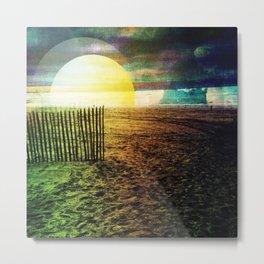 Dutch Dunes Metal Print