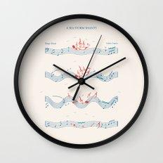 Nautical Notation Wall Clock
