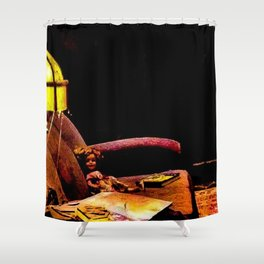 Did She Just Move? Shower Curtain