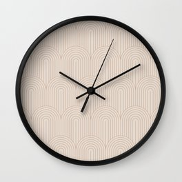 Art Deco Arch Pattern XIV Wall Clock