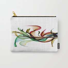 Flowerpower by Nico Bielow Carry-All Pouch