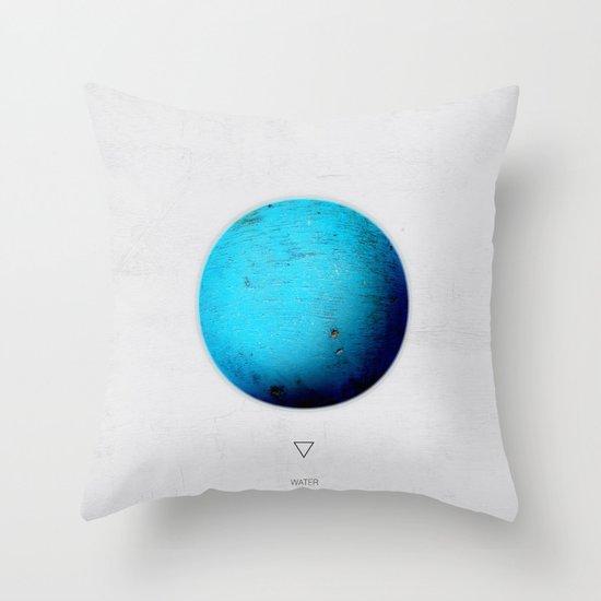 Element: Water Throw Pillow
