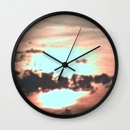 Backlit Wall Clock