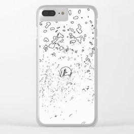 BELLES DES CHAMPS SO Clear iPhone Case