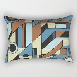 De Stijl Abstract Geometric Artwork 3 Rectangular Pillow