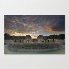 The Trocadero Gardens Canvas Print