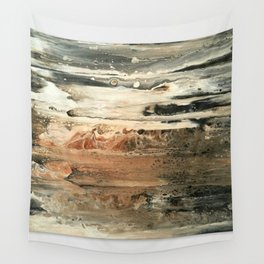 Study in Red Iron Oxide / Mars Mirage Wall Tapestry