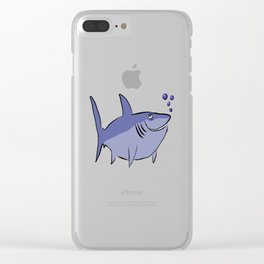 Snarky Shark Clear iPhone Case