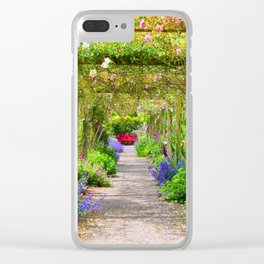Flowers a Plenty Clear iPhone Case
