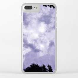 Rock A Bye Baby Clear iPhone Case