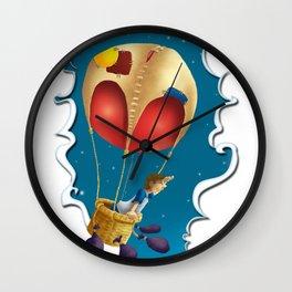 Ballon of dreams Wall Clock