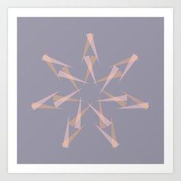 Pastel XMas Design I Art Print