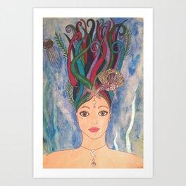 Daughter of the Deep Art Print