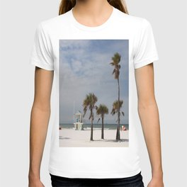 Clearwater Beach In Wintertime T-shirt
