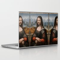 swanson Laptop & iPad Skins featuring Mona Swanson by RAOqwerty