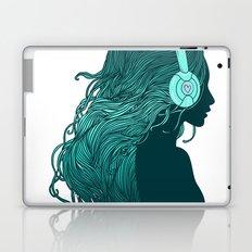 DJ Girl Laptop & iPad Skin