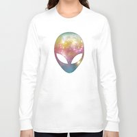 alien Long Sleeve T-shirts featuring Alien by Spooky Dooky