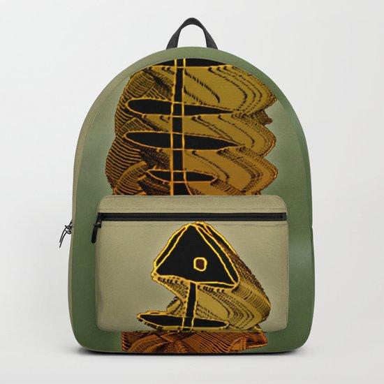 Atlante / ORANGE in BLUE Backpack