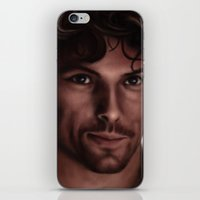 outlander iPhone & iPod Skins featuring Jamie  by Pia Langfeld