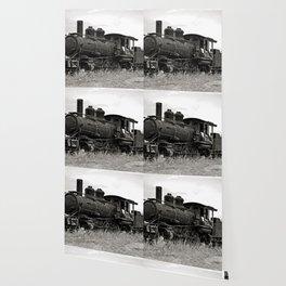 Vintage Steam Engine Wallpaper