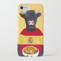 spanish iPhone & iPod Cases featuring The Spanish by Dano77