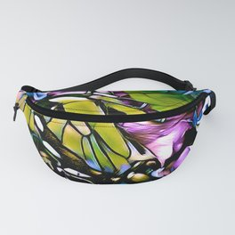 The Swallowtail Butterfly In Abstract Fanny Pack