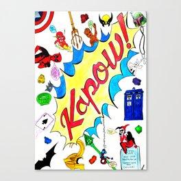 Kappa Comics Artwork! Canvas Print