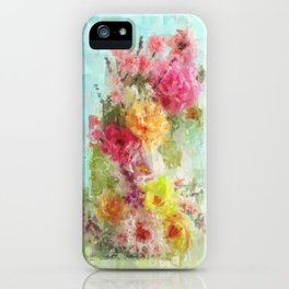 Flower Tower iPhone Case
