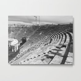 Coliseum in Verona Metal Print