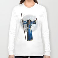 merlin Long Sleeve T-shirts featuring Merlin  by gypsykissphotography