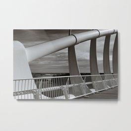 Te Rewa Rewa Bridge Metal Print