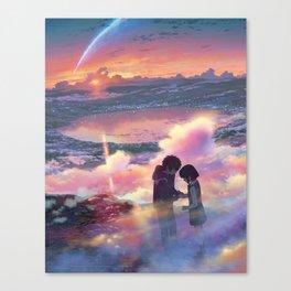 Kimi no na wa Your name Canvas Print
