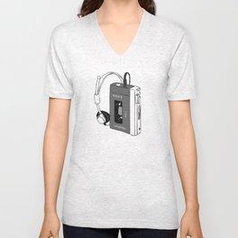 Walkman Unisex V-Neck