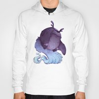 depression Hoodies featuring Real Monsters- Depression by Zestydoesthings
