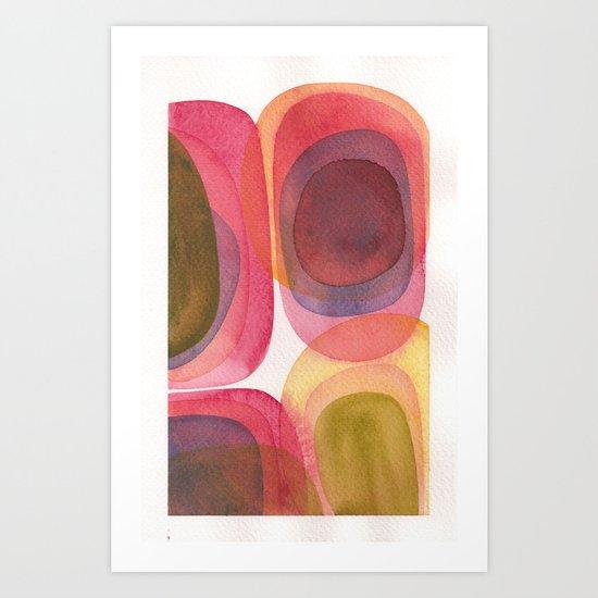 Erythrophyll II Art Print