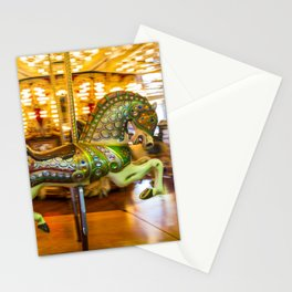Merry Go Round Carousel Horse Stationery Cards