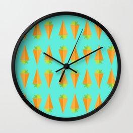 Carrot Veg Out Wall Clock