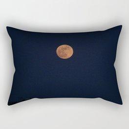 Moon Face Rectangular Pillow