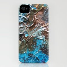 The Waterfall-Palette Mix Abstract iPhone (4, 4s) Slim Case