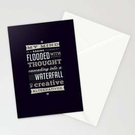 Funny Movie Quote from Blazing Saddles by Harvey Korman Stationery Cards