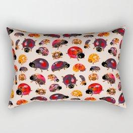 Lady beetles Rectangular Pillow