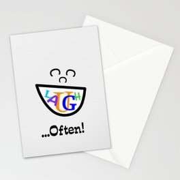 Laugh Often Stationery Cards