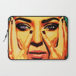 Golden thoughts Laptop Sleeve