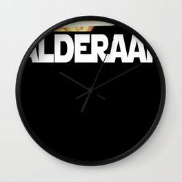 I Blew Up Alderaan Wall Clock