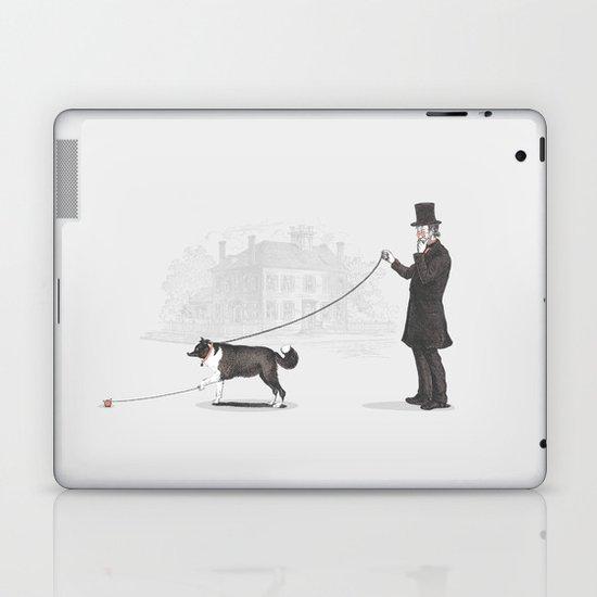 Walking the Dog Laptop & iPad Skin