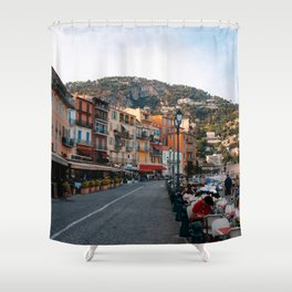 Colors of the French Riviera in Villefranche-sur-Mer, France | Nice, Côte d'Azur | Fine Art Travel Photography | Europe Shower Curtain