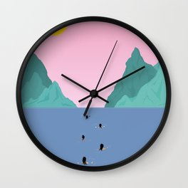 Against The Current Wall Clock